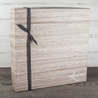 Wood Grain Gift Box