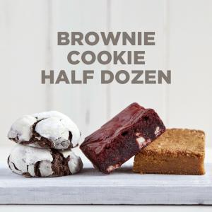 Brownie-Cookie 1/2 Dozen