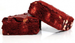Red Velvet White Chocolate Brownie