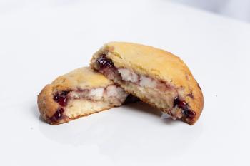 Mixed Berry Gooey Butter Cookie