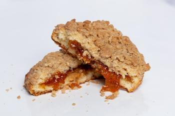 Peach Cobbler Gooey Butter Cookie