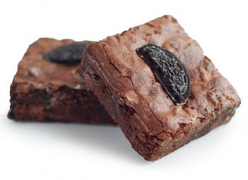 Vegan Gluten-Free Triple Chocolate Oreo® Brownie