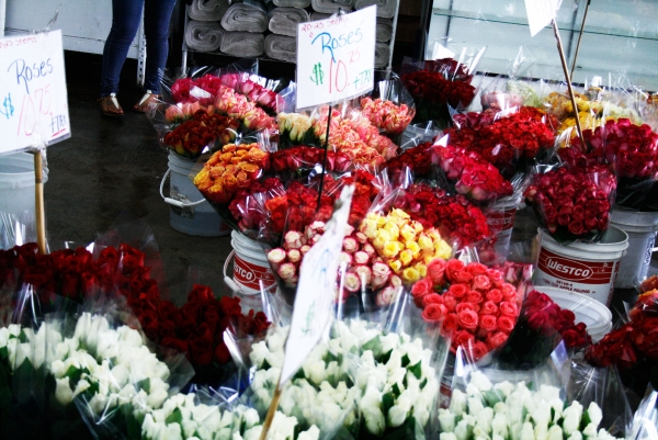 ... District Orange County Register Source · With the advent of refrigerated trucks the Los Angeles Flower Market which eventually expanded into an