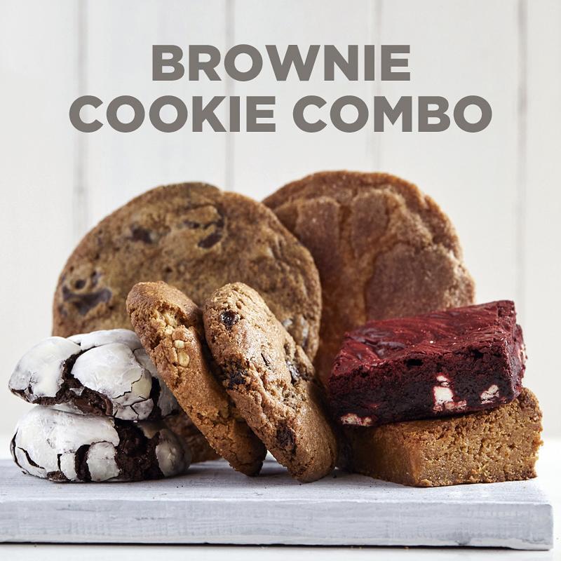 Brownie-Cookie Combo