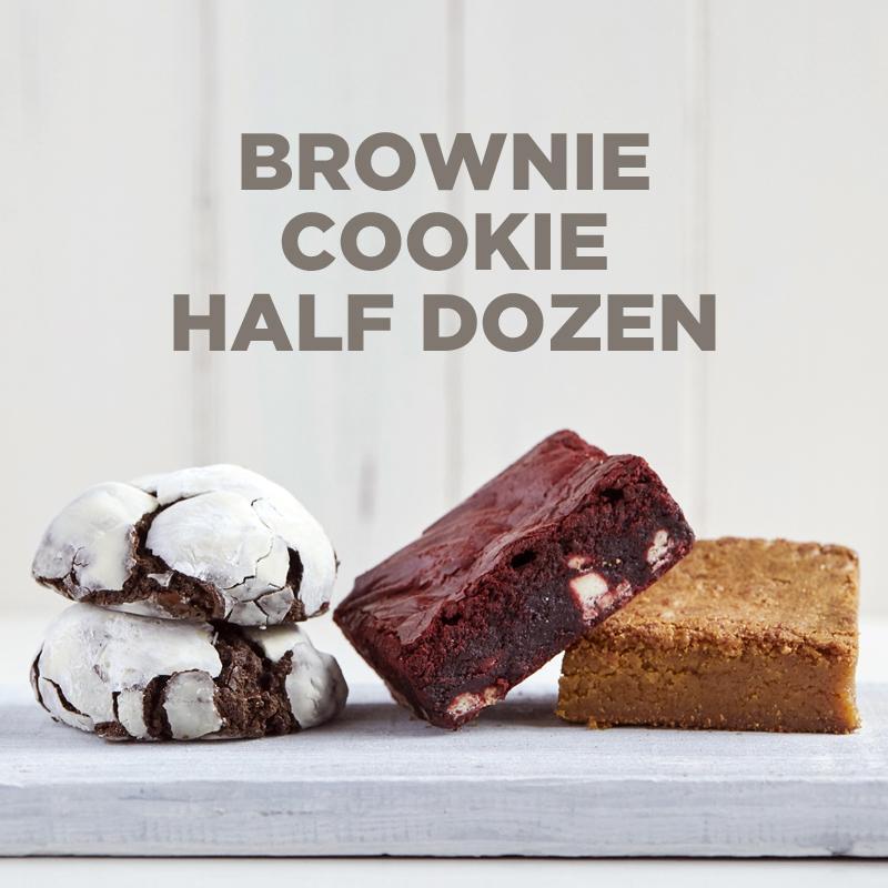 Brownie-Cookie 1/2 Dozen