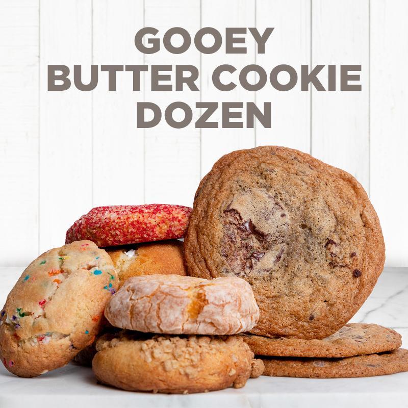 Gooey Butter Cookie Dozen