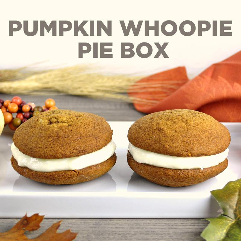 Pumpkin Whoopie Pie Box