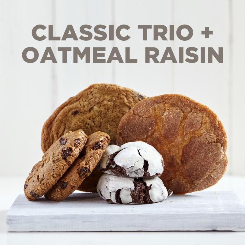Classic Trio   Oatmeal Raisin