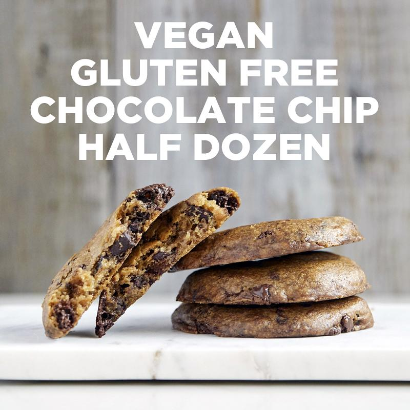 Vegan Gluten-Free Chocolate Chip Half Dozen
