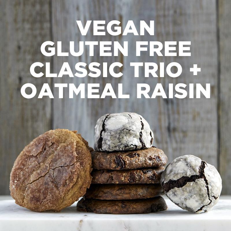 Vegan Gluten-Free Classic Trio   Oatmeal Raisin