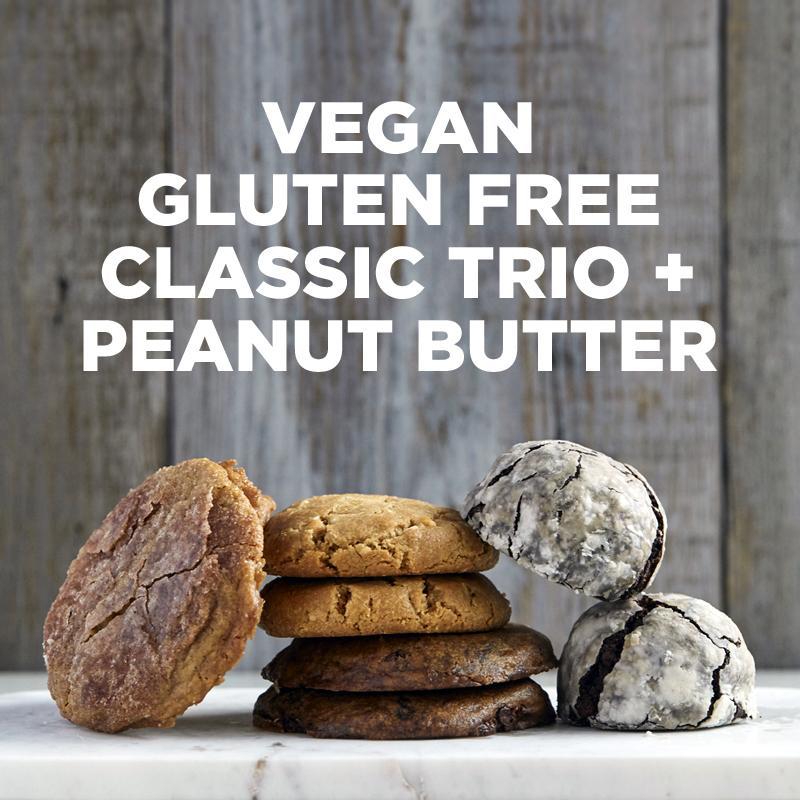 Vegan Gluten-Free Classic Trio   Peanut Butter