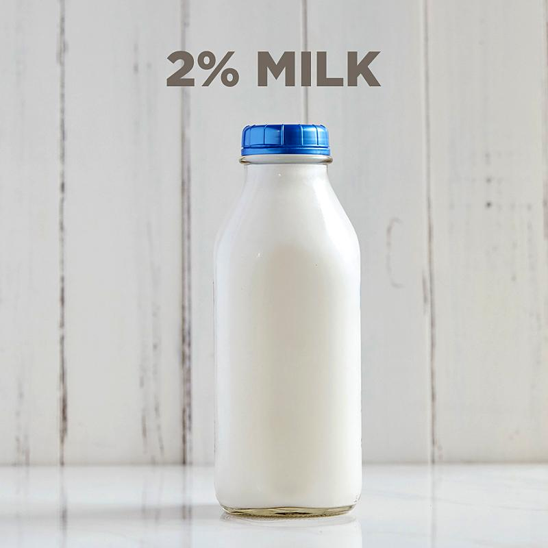 2% Milk (includes $2 Bottle Deposit)